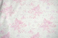 Penelope   Hydrangea Toile    Cotton Fabric Lakehouse Dry Goods Floral Bfab
