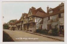 Kent postcard - The Village, Chiddingstone - RP