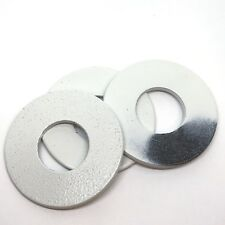 "(48) 2-1/2"" Powder Coated Washer Toss Washers - Damaged/Chipped - Bulk - White"