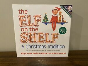 Elf on the Shelf 3 Piece Boy Gift Set. A Christmas Tradition Story Book and Doll