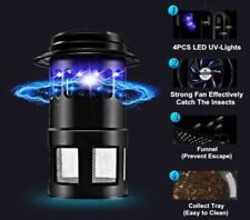 Pest Control Electric Mosquito Killer Fly Bugs Insect Zapper with a Inhaling Fan