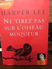 Harper Lee Ne Tirez Pas Sur L'oiseau Moqueur /Audiobook