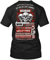 Soft Machinist Hanes Tagless Tee T-Shirt Hanes Tagless Tee T-Shirt
