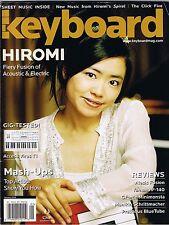 2006 HIROMI Access Virus T1 Alesis Fusion YAMAHA P-140 Keyboard Magazine Reviews