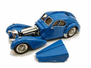 Miniature voiture auto 1:43 rio Bugatti 57 Sc Atlantic 1938 Et Modélisme USA