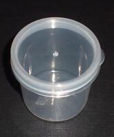 2 St. Dose Aufbewahrungsdose Cremedose Salbendose 35 ml durchsichtig klar Deckel