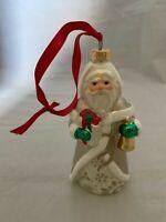 Hallmark Keepsake 2010 The Spirit of Christmas Glass Santa Christmas Ornament