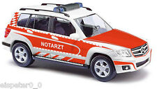 BUSCH 49768, Mercedes-Benz GLK-Klasse »Notarzt«, H0 Fertigmodell 1:87