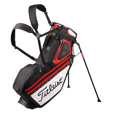 Titleist Japan Golf Caddy Carry Separate Stand Bag 10inch TB7SX14 Black