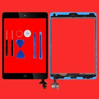 Touch Screen Glass Digitizer Screen replacement for iPad Mini 1st 2nd Black