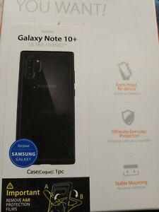 Spigen Samsung Galaxy Note 10 Ultra Hybrid Case - Crystal Clear