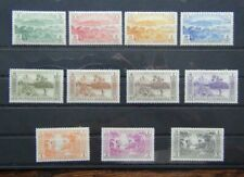 New Hebrides French 1957 set to 5F SGF96 - SGF106 MM