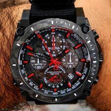 Bulova Precisionist Chronograph Black Carbon Fiber Dial Men's Watch