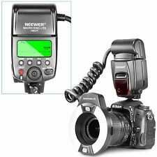 Neewer Macro TTL Ring Flash Light with AF Assist Lamp for Nikon I-TTL Cameras