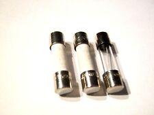 4A, 5A, 6,3A, 250V, Träge, 5x20 mm, Feinsicherung, Bussmann, je 10 St., 30 Stück