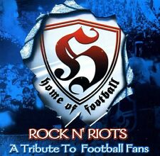 "V/A ""ROCK'N'RIOTS""-A TRIBUTE TO FOOTBALL FANS"" CD, NEW! OI!-PUNK-HC-HOOLIGAN"