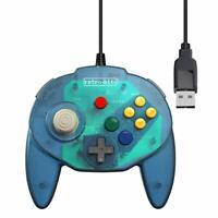 Retro-Bit Tribute 64 USB for PC, Switch, Mac, Steam, RetroPie, Raspberry Pi -