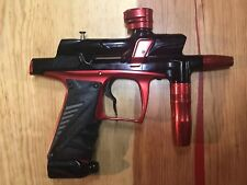 Used Bob Long G6R Paintball Marker Red and Black