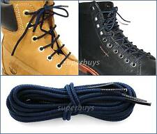 Navy Blue 150cm Timberland Hiking Trekking Shoe Work Boot Laces Trek Hike 6/7