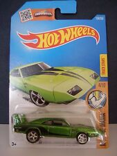 HOT WHEELS 2015 SUPER TREASURE HUNT,'69 DODGE CHARGER DAYTONA, REAL RIDERS