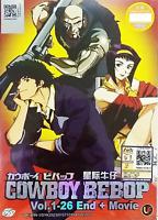 Anime DVD Cowboy Bebop Complete ENGLISH DUB Box Set - EXPRESS SHIPPING
