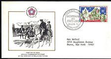 WALLIA & FUTUNA1976 FIRST DAY COVER - AMERICAN BICENTENNIAL