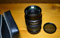 Paragon 1:3.5 f=135mm 49 Diameter Japan Lens + HOYA Polarising Filter & Case