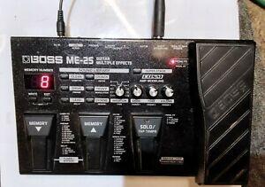 BOSS ME-25 GUITAR MULTIPLE EFFECTS PEDAL inc mains adaptor