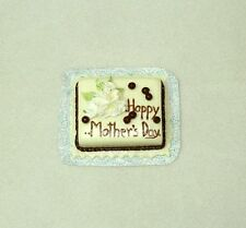 Dollhouse Miniatures Happy Mother's Day Cake for 1:12 Scale Doll House Bakery
