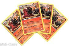 Pokemon 4 MAGCARGO 21/146 Raras x4 Español Fuego RARA