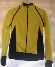 GORE S Bike Wear Windstopper Cycling Jacket Vest Small Convertible Safety Yellow