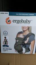 ErgoBaby 'OMNI 360 Cool Air' Newborn Infant Toddler Baby Carrier Khaki Green