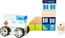 Small Foot Ambulance Construction Set with Sound