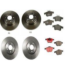 Front & Rear Volvo C30 2008 - 2012 Disc Brake Rotors & Pads Brake KIT Brembo