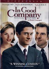 NEW COMEDY  DVD // In Good Company // SCARLETT JOHANSSON , DENNIS QUAID,