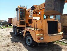 2000 Badger 670 Hydraulic Excavator, Twin Cummins, Eaton, 10 Wheeler, Galveston