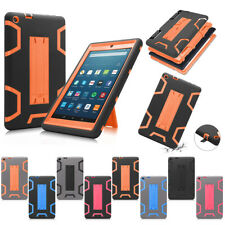 "Heavy Duty Protective Rugged Cover Case for Amazon Fire HD 8"" 2016 6th Gen"