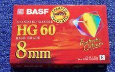 videocassetta VIDEO 8 mm / Hi8 CAMCORDER BASF P5-60 HG TAPE CASSETTA videocamera