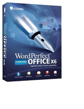 COREL WORDPERFECT OFFICE X6 STANDARD INCL QUATTRO PRO X6,PRESENTATIONS X6