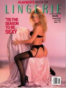 Playboy Book of Lingerie November December 1989 excellent free post