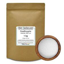 1-25 kg Paraffin Kerzenwachs DWP 53-57°C, Paraffinwachs, Granulat, transparent