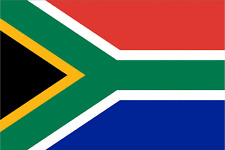 SOUTH AFRICAN SOUTH AFRICA FLAG 5FT X 3FT WITH TWO METAL EYELETS