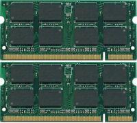 Memory PC2-5300 SODIMM For Dell Inspiron 1720 NEW BULK LOT 2x2GB 4GB