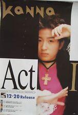 "KANNA ""ACT I"" JAPANESE PROMO POSTER-J-Pop,C-ute"