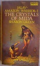 Sharon Green THE CRYSTALS OF MIDA Jalav Amazon Warrior I 1 Ken Kelly Cover Art!