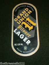 BEER PUMP CLIP - GRAND UNION PILSNER LAGER
