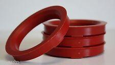 4 x 72.6 - 57.1 LEGA RUOTA gli anelli di centraggio HUB RUBINETTO C15