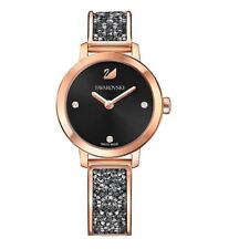 Swarovski 5376068 Cosmic Rock Watch, Black Crystal/Rose Gold-Plated RRP$499