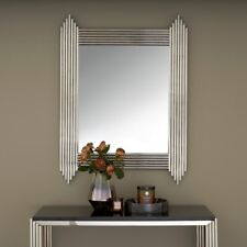 Art Deco Jaipur Accent Large Nickel Mirror 102 X 76cm wayfair Cost £340 Now £125