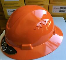 Hdpe Full Brim Hard Hat With Fas Trac Suspension 8 Colors To Choose From